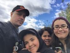 A family selfie.