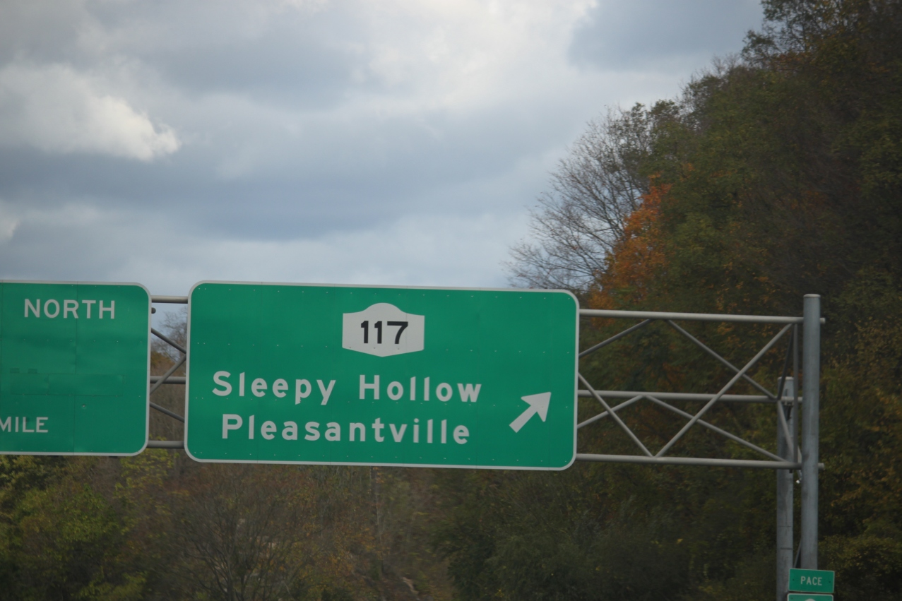 We passed Sleepy Hollow on the way to Stuarts Farm.